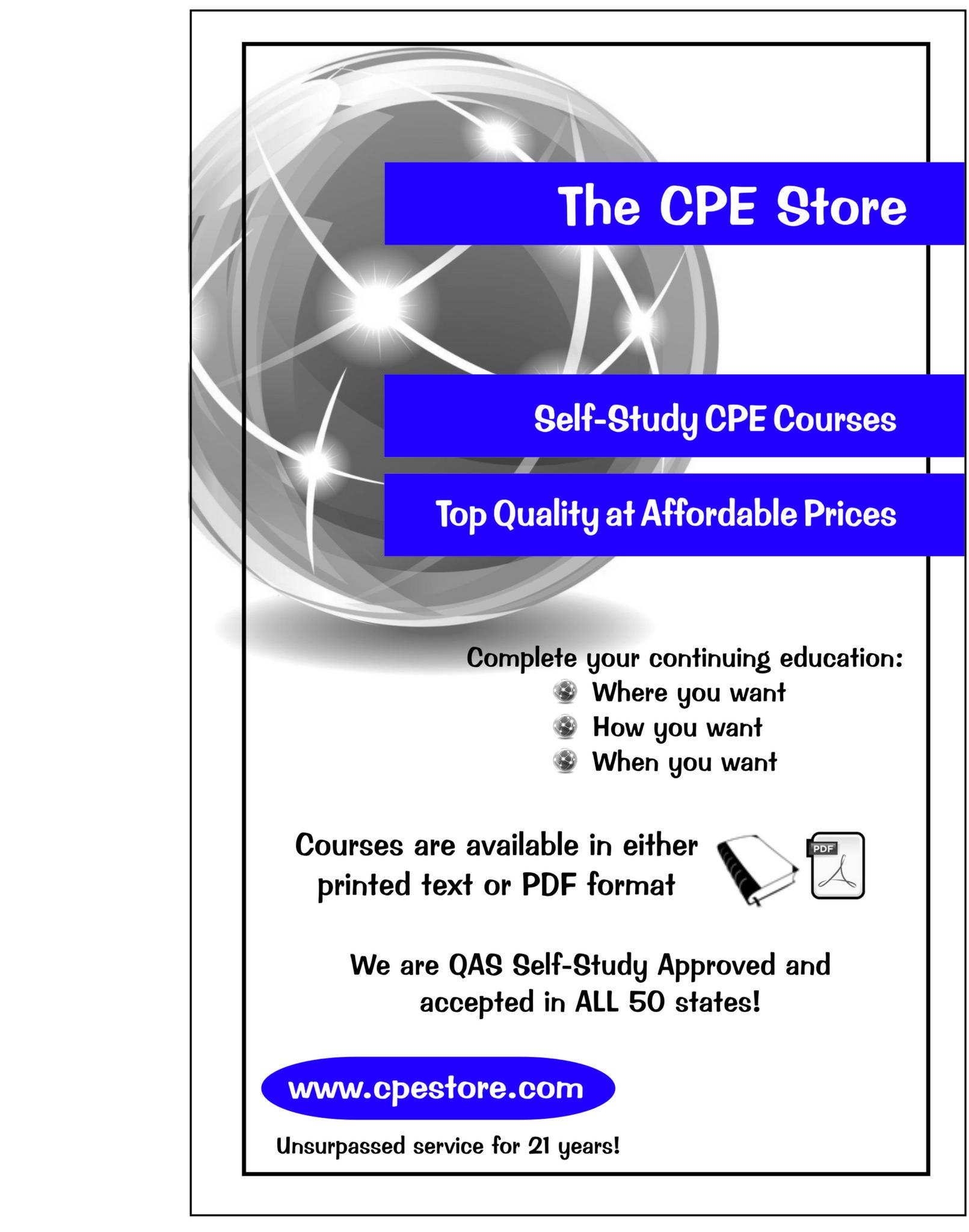 The Cpe Store Nasba Registry